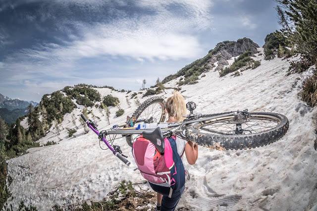 gpx track tour singletrail trail mountainbike mtb bikebergsteigen