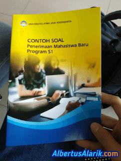 Booklet Contoh Soal Tes Masuk UAJY