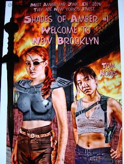 Portada del libro Welcome to New Brooklyn, de Tom Hobbs
