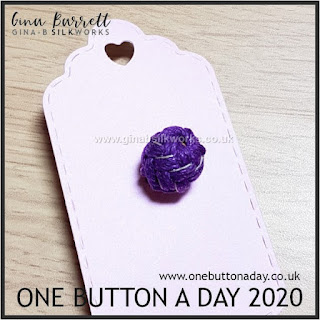 Day 215 : Gaucho - One Button a Day 2020 by Gina Barrett