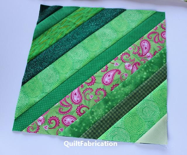 string quilt block