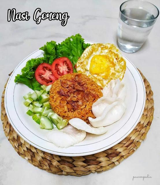 Resep nasi goreng rumahan 1 porsi