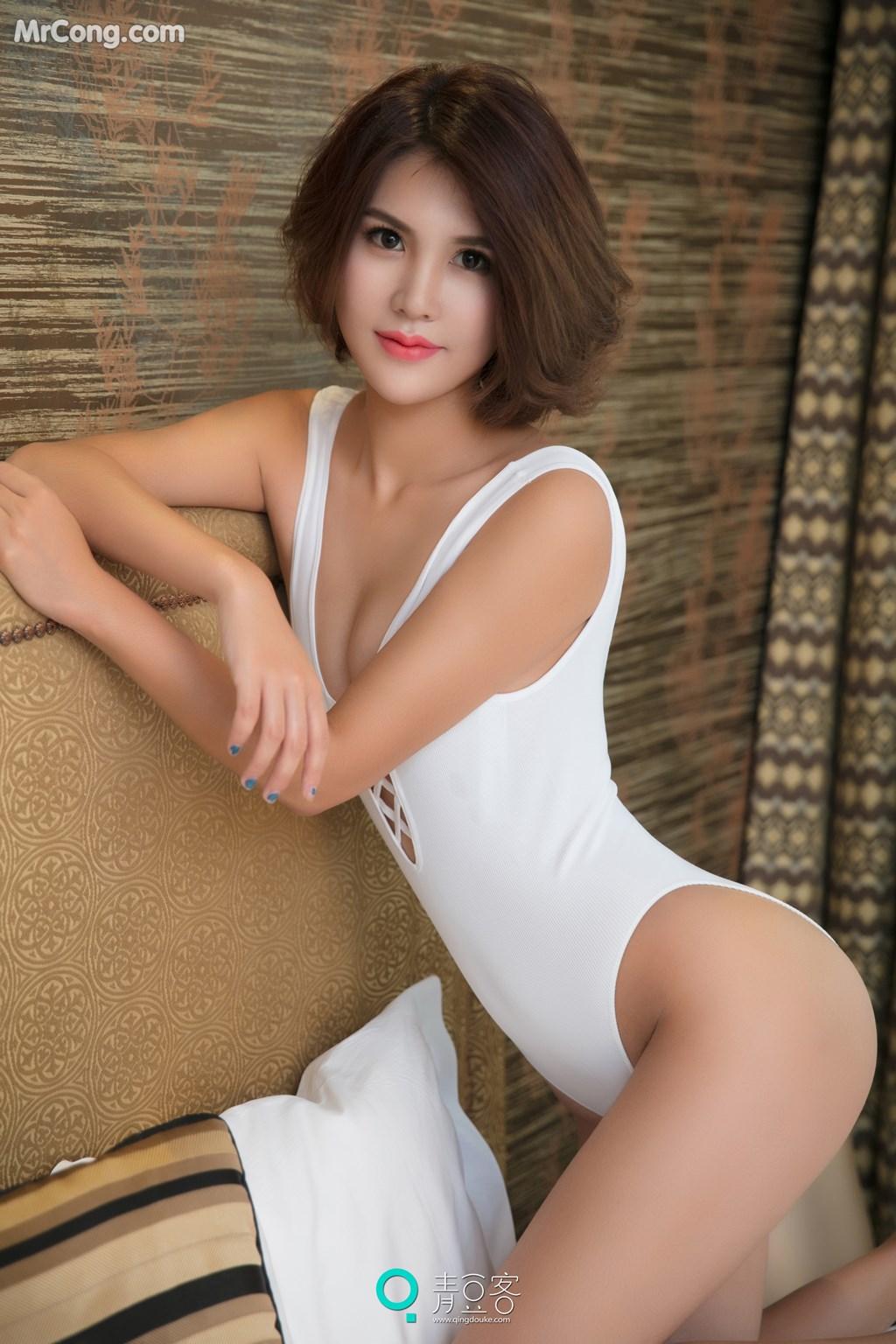 Image QingDouKe-2017-10-10-Yi-Nuo-MrCong.com-009 in post QingDouKe 2017-10-10: Người mẫu Yi Nuo (依诺) (54 ảnh)