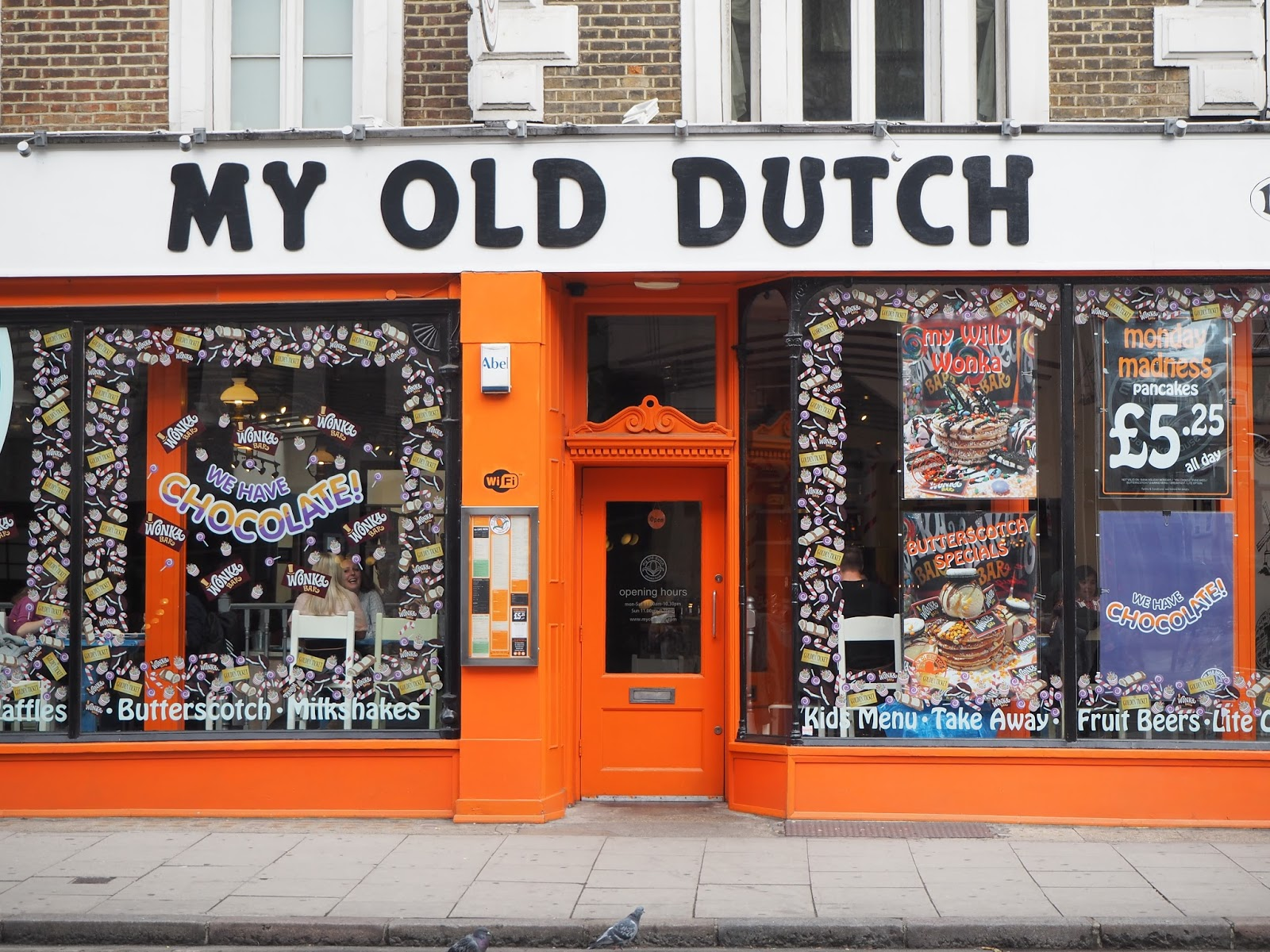 My Old Dutch Pancake House in Holborn, London
