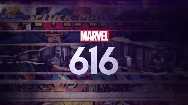 Logo Marvel's 616