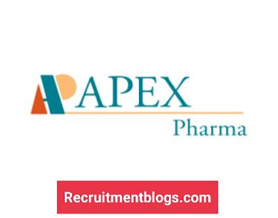Summer Internship Program At APEX Pharma 2021