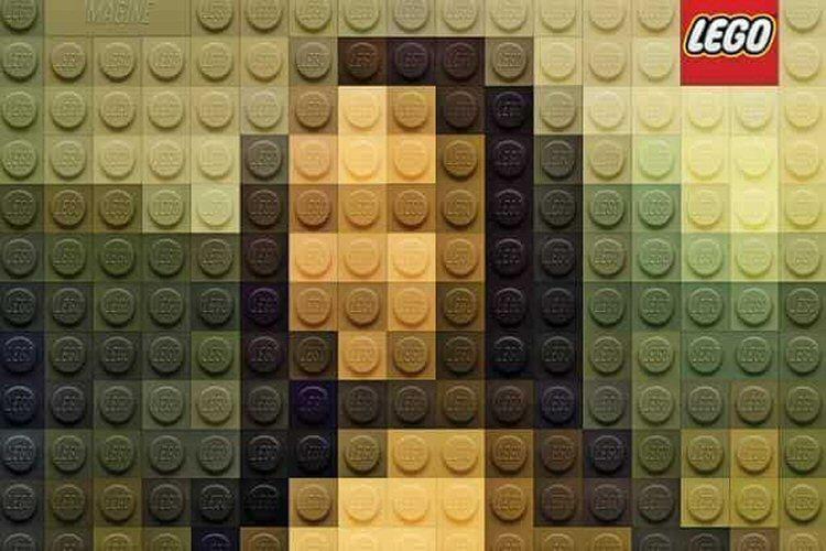 Lego: Mona Lisa