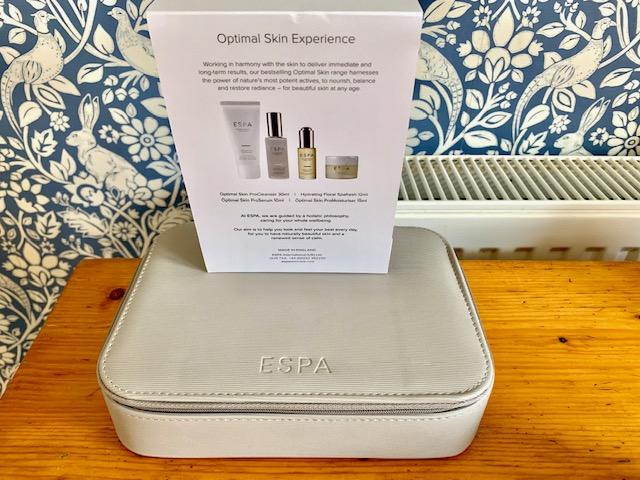 Espa skincare travel case