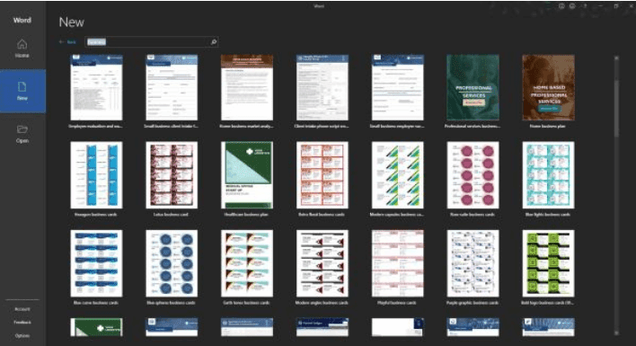 Making Business Cards With Microsoft Word