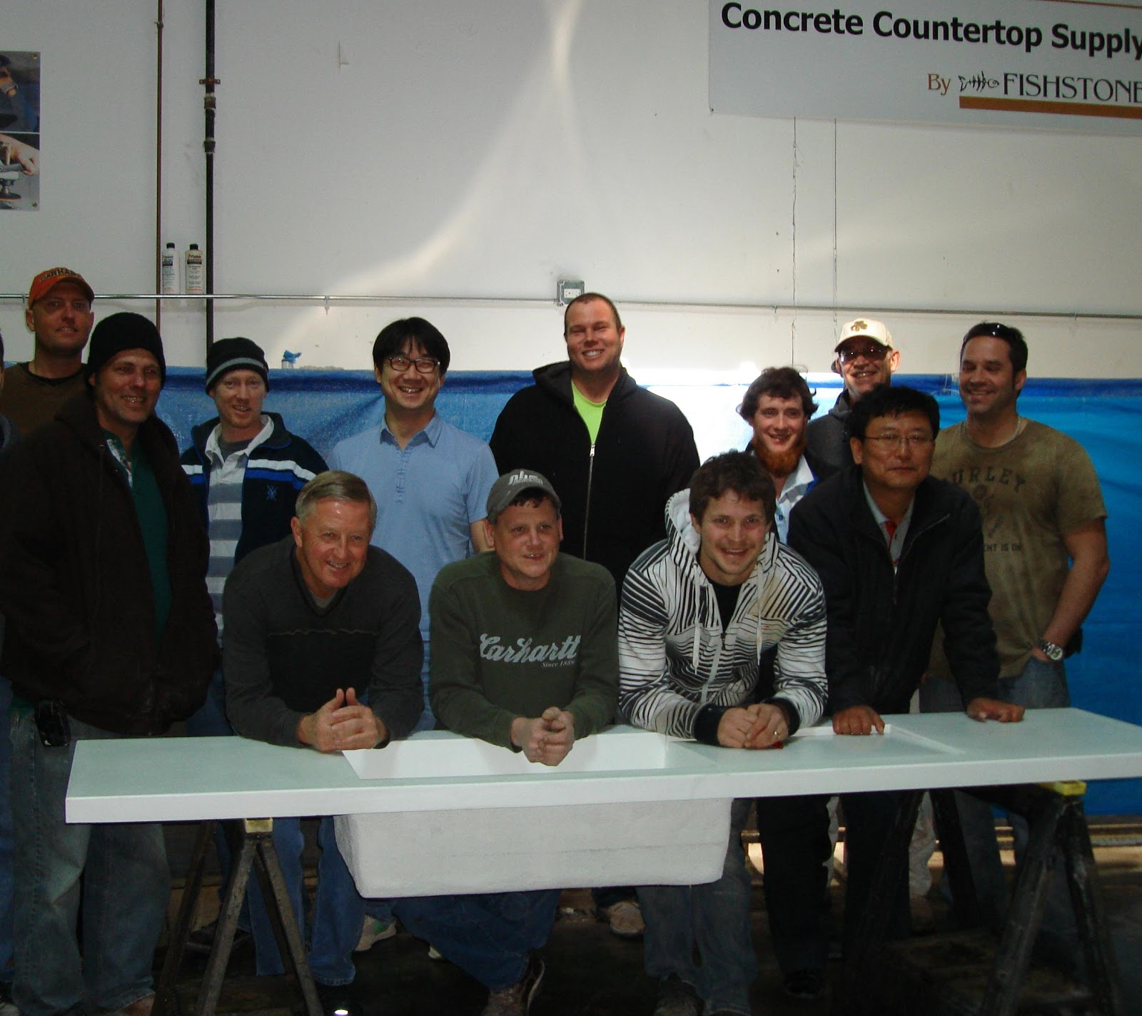 Fishstone Concrete Countertop Supply 2012