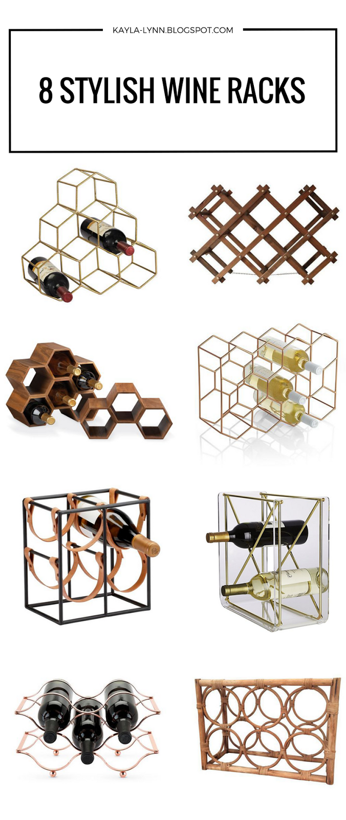 8 Stylish Wine Racks | Kayla Lynn