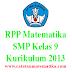Perangkat Matematika SMP Kelas 9 Kurikulum 2013 Revisi