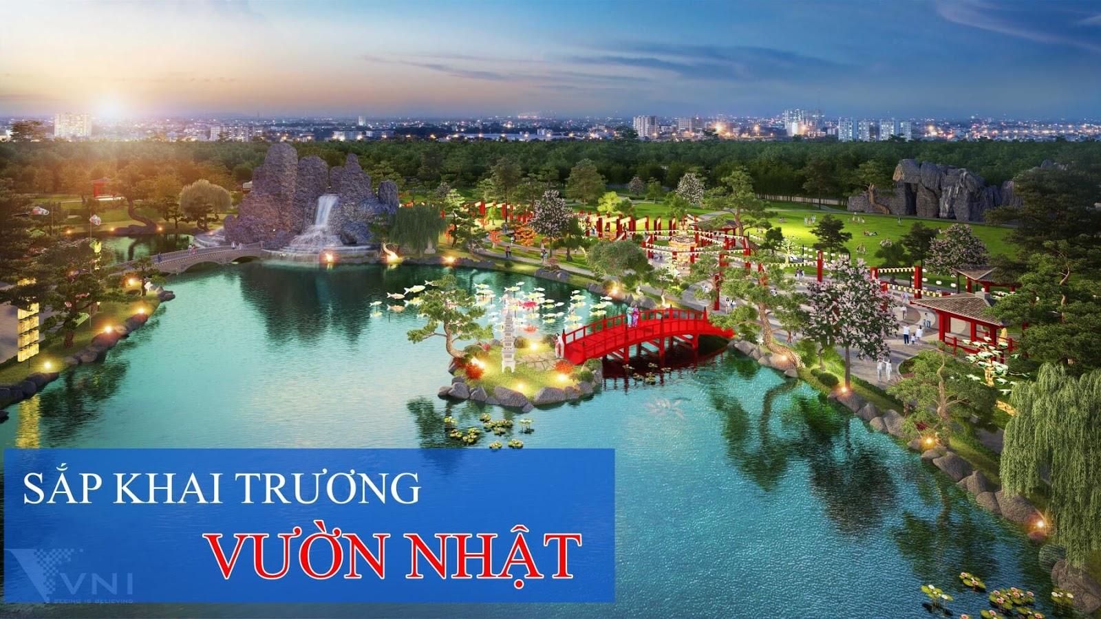 Sắp khai trương vườn Nhật lớn nhất Việt Nam tại khu đô thị Vinhomes
