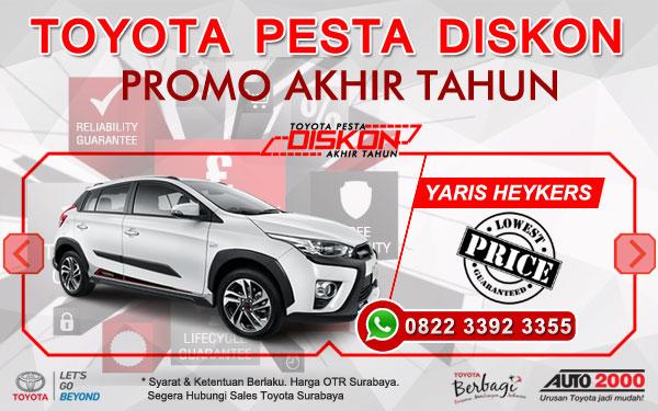 Promo Akhir Tahun Toyota Yaris Surabaya