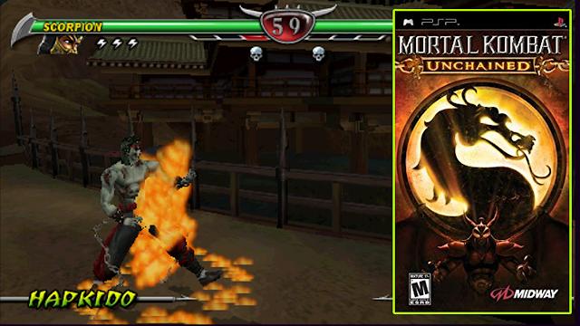Rekomendasi 17 Game Fighting PSP Di Jamin Seru-Seru!