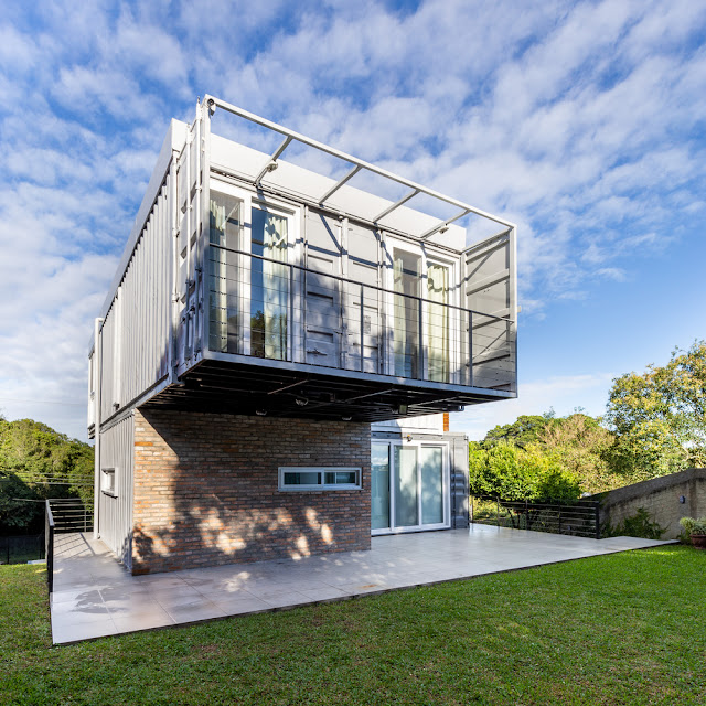 Casa Conteiner RD - 350 sqm Two Story Shipping Container Home, Brazil 19