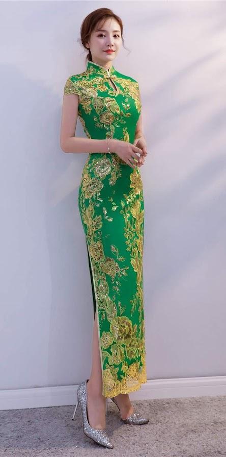 Elegant Beautiful Cheongsam