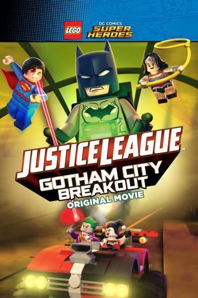 Lego DC Comics Superheroes: Justice League – Gotham City Breakout - Latino - 1080p - Portada