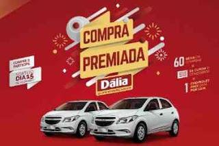 Promoção Dália Supermercados Compra Premiada - Participar, Prêmios