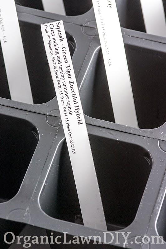 DIY Printed Plant Labels