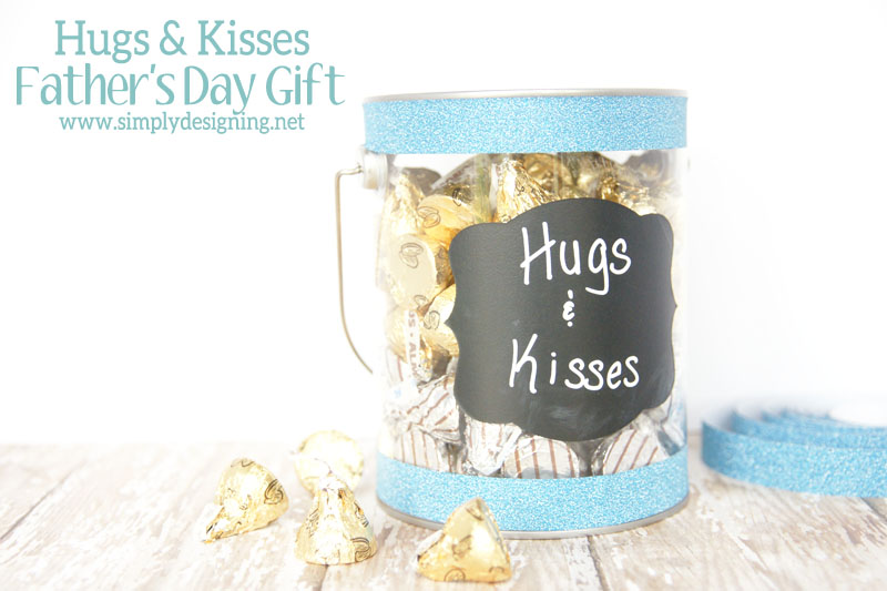 Hugs and Kisses Fathers Day Gift | #fathersday #gift