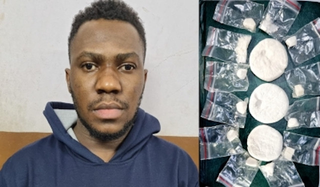 Indian police arrest young Nigerian man for selling cocaine