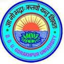 DDU Gorakhpur University Official Logo