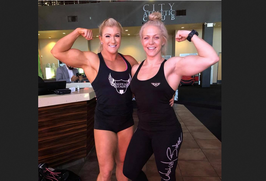 I loved seeing really physically fit women bodybuilding