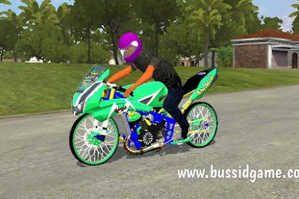 Mod Motor Sport Ninja 150RR Drag By Azumods