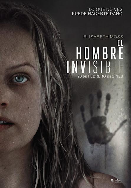 Cartel El hombre invisible