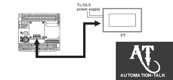 NV HMI & Panasonic FP-X-series PLC Communication