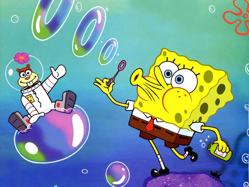Wallpaper Spongebob Squarepants Deloiz Wallpaper