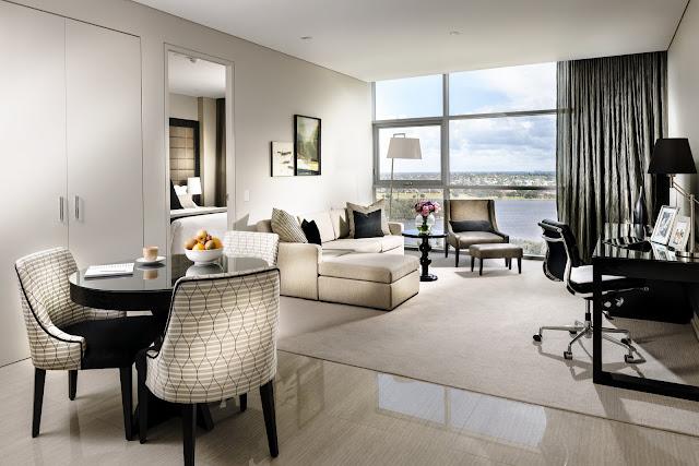 Fraser Suites, Perth - living room
