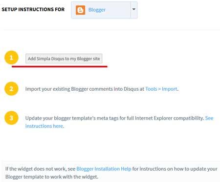 Kolejne 3 kroki do wykonania w celu prawidłowej instalacji na blogu blogspot