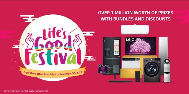 LG celebrates Life's Good Festival