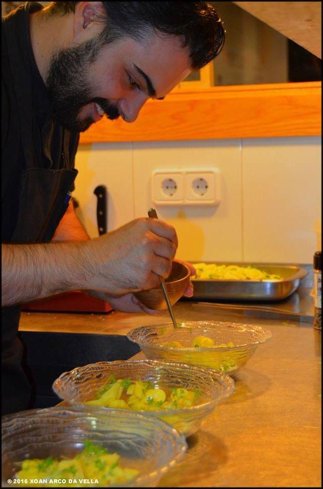 Xoan arco da vella viernes de tapas en el cafetin - Ayudante de cocina madrid ...