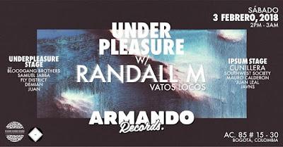 PIMR presenta: UnderPleasure w/ Randall M Vatos Locos