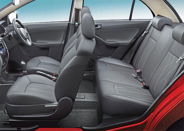 Tata Nexon SUV inside view