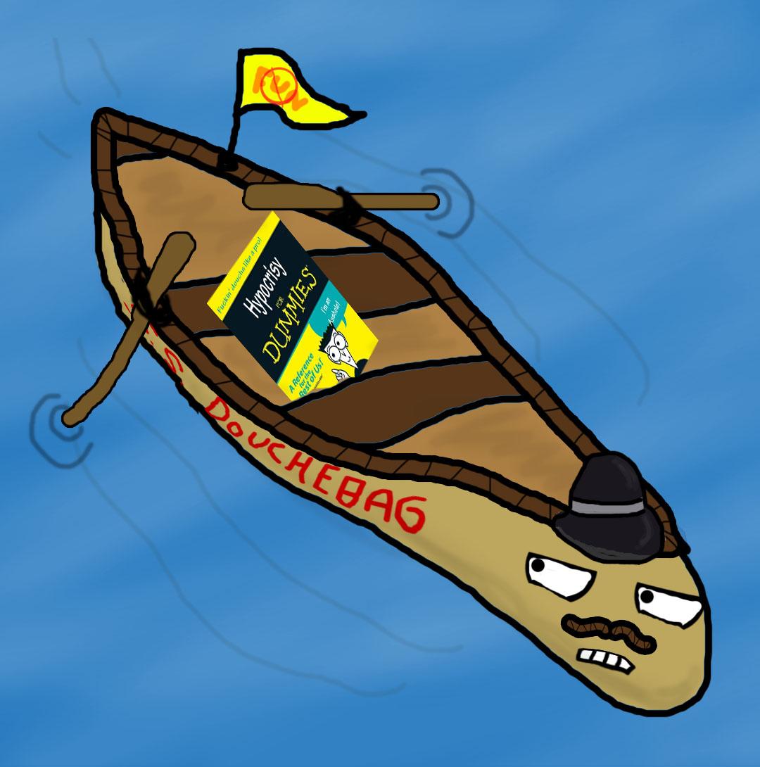 Meteoroflgy: Hypocritical Douche-Canoe