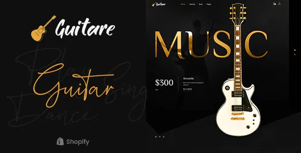 Best Musical Instruments Store Shopify Theme