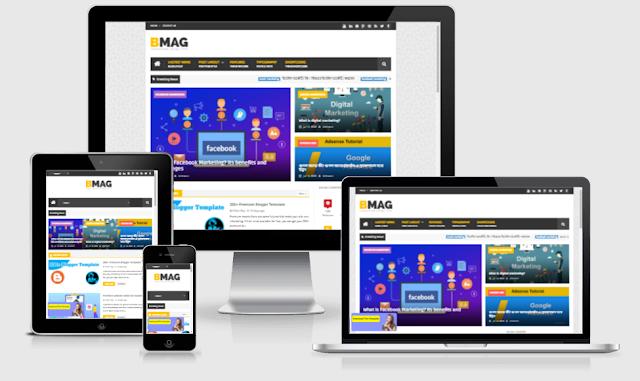 BMAG Premium Blogger Template