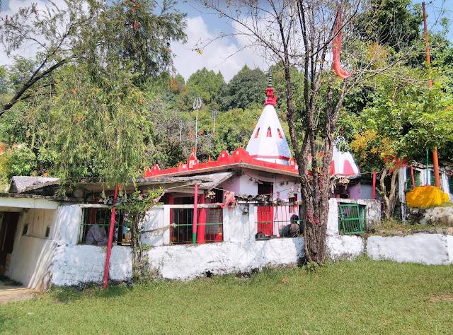 भगवती मंदिर पोथिंग (कपकोट) बागेश्वर