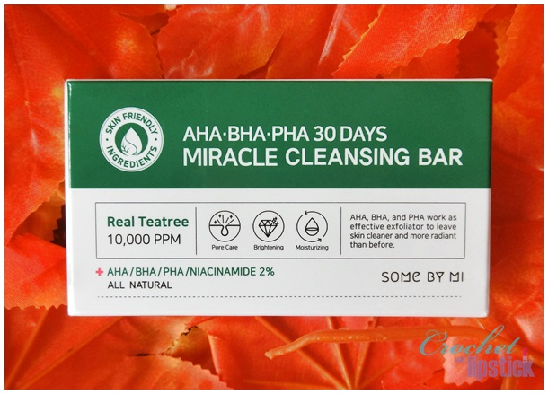 Some By Mi AHA BHA PHA 30 Days Miracle Cleansing Bar Box