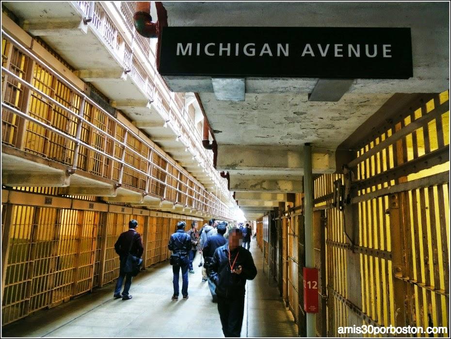 La Prisión de Alcatraz: Celdas de los Bloques A y B