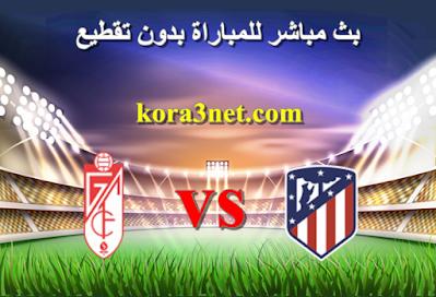 مباراة اتلتيكو مدريد وغرناطة