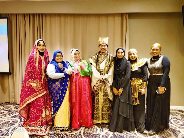 Dinner bertemakan Culture Glam di Vistana Hotel Kuala Lumpur