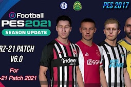 RZ Patch Season 2021 AIO + Update V6 - PES 2017