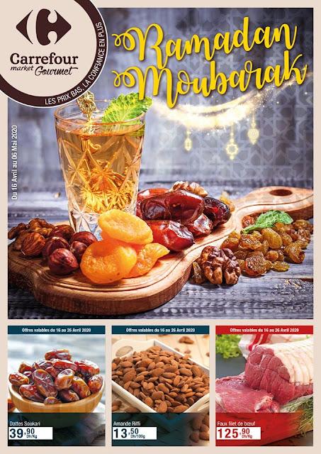 catalogue carrefour gourmet avril mai ramadan 2020