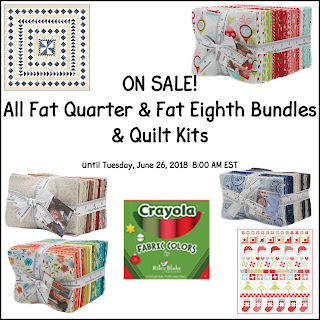 Fat Quarter & Fat Eighth Bundle & Quilt Kit Sale at Crazy Quilt Girl Fabric Shop