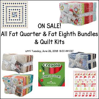 Fat Quarter & Fat Eighth Bundle & Quilt Kit Sale at Crazy Quilt Girl Fabric Shop